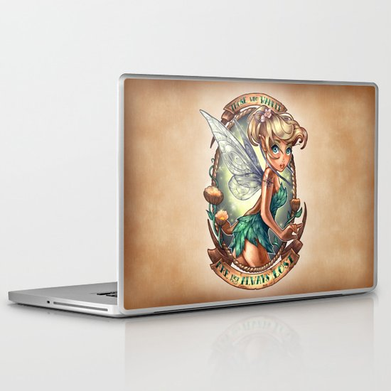 Those Who Wander Are Not Always Lost Laptop & iPad Skin