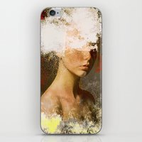The woman without look iPhone & iPod Skin