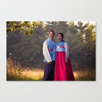 Oliver and Soye - Korean  Canvas Print