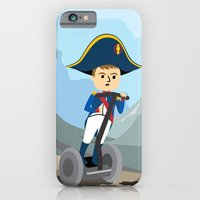 iPhone & iPod Case featuring Napoleon Segways the Alps by Mouki K. Butt