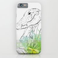 Lloras con lágrimas de cocodrilo (you cry with cocodrile tears) iPhone 6 Slim Case