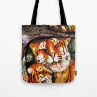PERSIAN TIGER Tote Bag