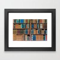 Antique First Edition Bo… Framed Art Print