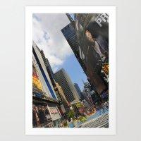 New York City Life Art Print