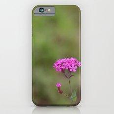 pink flowers iPhone 6 Slim Case