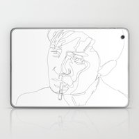 smoking man Laptop & iPad Skin