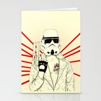 The Troopinator Stationery Cards