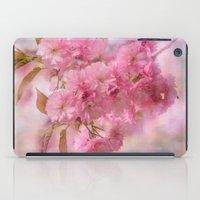 Pink Blooms iPad Case