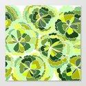 Floral Green Canvas Print