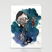 Zombie Skrillex / Special Edition Stationery Cards