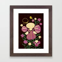 Floral Flower Artprint Framed Art Print