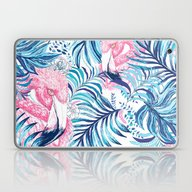 Laptop & iPad Skin featuring Flamingo by Agus Correa