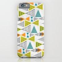 Geometric Mid Century Modern  Triangles iPhone 6 Slim Case