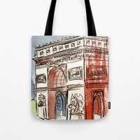 L'Arc De Triomphe Tote Bag