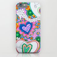 Hearts in a Field of Pink iPhone 6 Slim Case