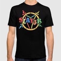 Slayer—For Kids! Mens Fitted Tee Black SMALL