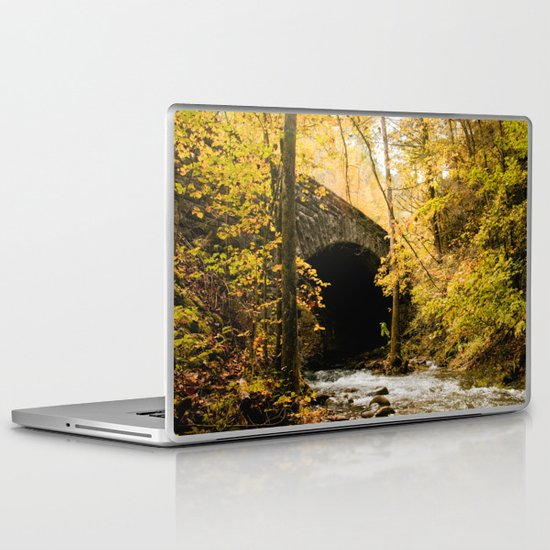 Stone Bridge Laptop & iPad Skin