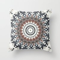 Graffiti Wall Kaleidesco… Throw Pillow