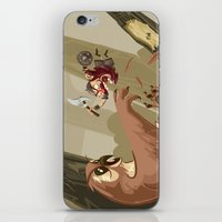 Knubby The Dwarf Fights … iPhone & iPod Skin
