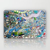 Venice Beach Bathroom Art Laptop & iPad Skin