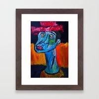 Fool on a Hill  Framed Art Print