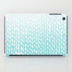 Hand Knitted Ombre Teal iPad Case