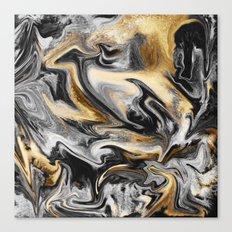 Gold Veins Canvas Print