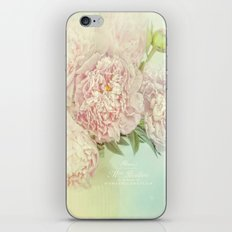 peony dream iPhone & iPod Skin