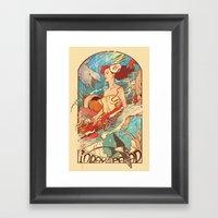 Miss Earth Framed Art Print