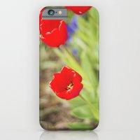 Bursts Of Red iPhone 6 Slim Case