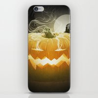 Pumpkin I. iPhone & iPod Skin