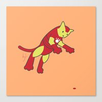 The Invincible IronCat Canvas Print