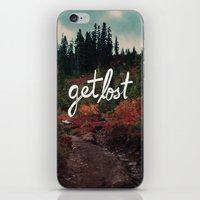 Get Lost In The Pacific … iPhone & iPod Skin