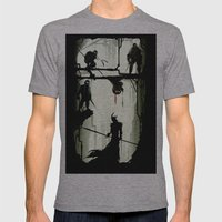 The Last Stand Mens Fitted Tee Athletic Grey SMALL