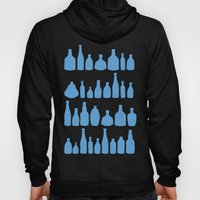 Bottles Blue Hoody