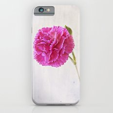 Carnation on paper iPhone 6 Slim Case