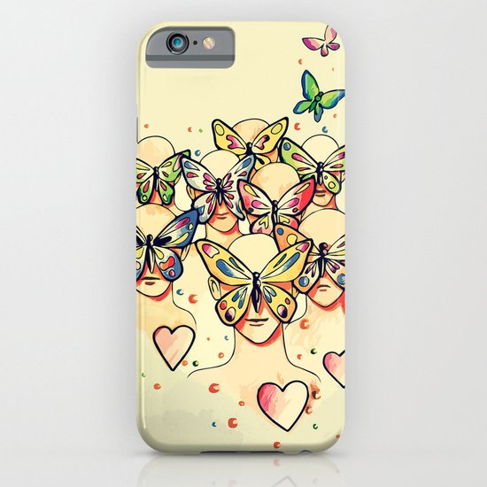 Butterfly Caught iPhone & iPod Case