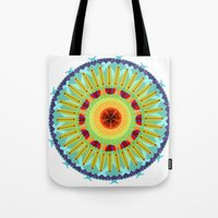 Kaleidoscope Flora 04 Tote Bag