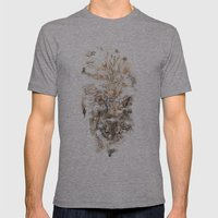 Wolf Mist Mens Fitted Tee Athletic Grey SMALL