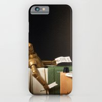 iPhone & iPod Case featuring The Death of Robat by powerpig