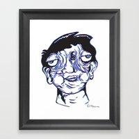 Please Place 3-D Glasses… Framed Art Print