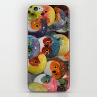 Alabaster Owls iPhone & iPod Skin