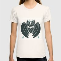 Bat from Transylvania Womens Fitted Tee Natural SMALL