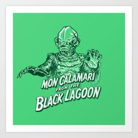 Mon Calamari From The Bl… Art Print