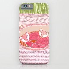 Sleepy Happy Foxes iPhone 6 Slim Case