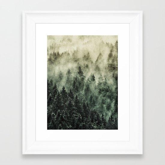 Everyday // Fetysh Edit Framed Art Print