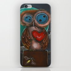 Botton Eyes Owl iPhone & iPod Skin