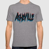 ASHEVILLE  Mens Fitted Tee Athletic Grey SMALL