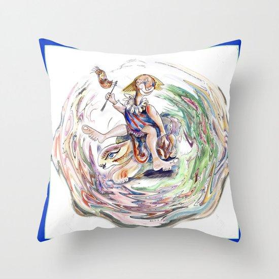 R.B.Sunday Outing Throw Pillow