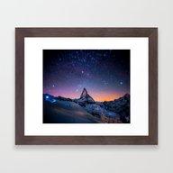 Mountain View Framed Art Print